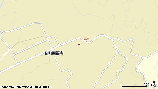 大分県竹田市荻町西福寺5935周辺の地図
