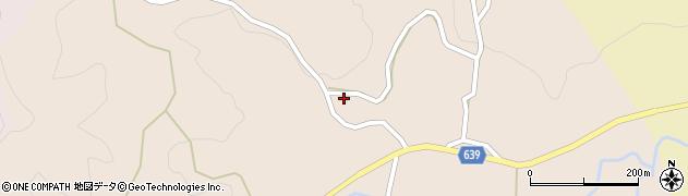 大分県竹田市田井126周辺の地図