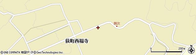 大分県竹田市荻町西福寺5945周辺の地図