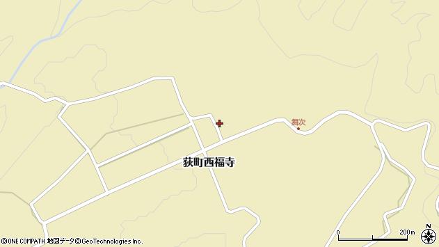 大分県竹田市荻町西福寺5745周辺の地図
