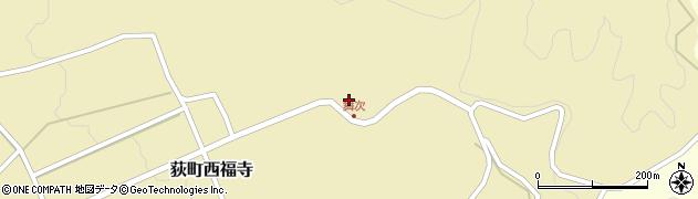 大分県竹田市荻町西福寺5932周辺の地図