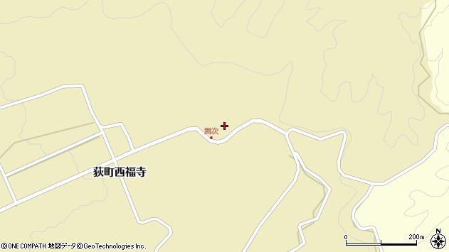 大分県竹田市荻町西福寺5931周辺の地図