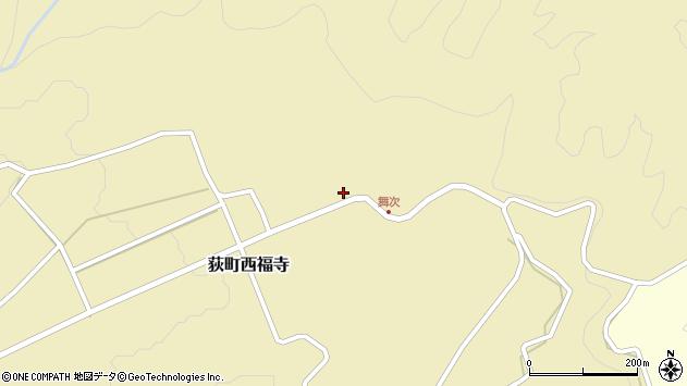 大分県竹田市荻町西福寺5757周辺の地図