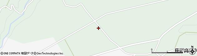 大分県竹田市荻町高練木2081周辺の地図
