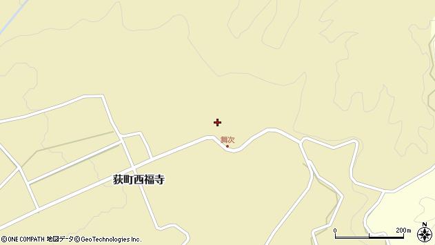 大分県竹田市荻町西福寺5761周辺の地図