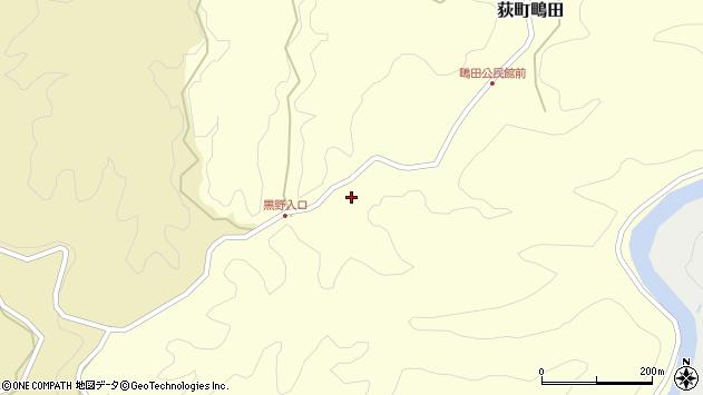 大分県竹田市荻町鴫田6425周辺の地図