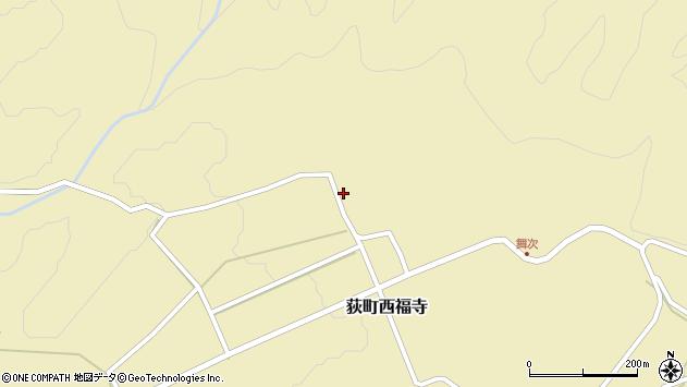 大分県竹田市荻町西福寺5381周辺の地図