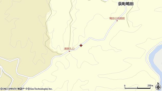 大分県竹田市荻町鴫田6420周辺の地図