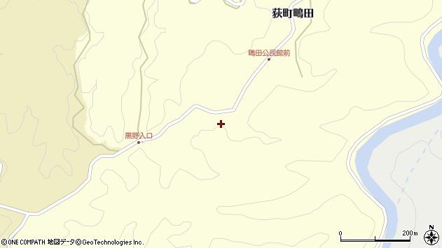 大分県竹田市荻町鴫田6414周辺の地図
