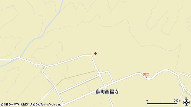 大分県竹田市荻町西福寺5399周辺の地図
