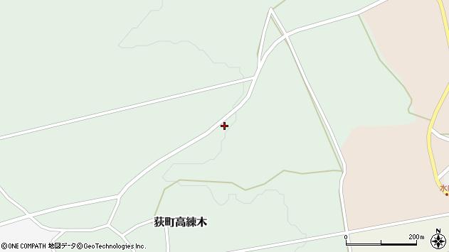 大分県竹田市荻町高練木2335周辺の地図