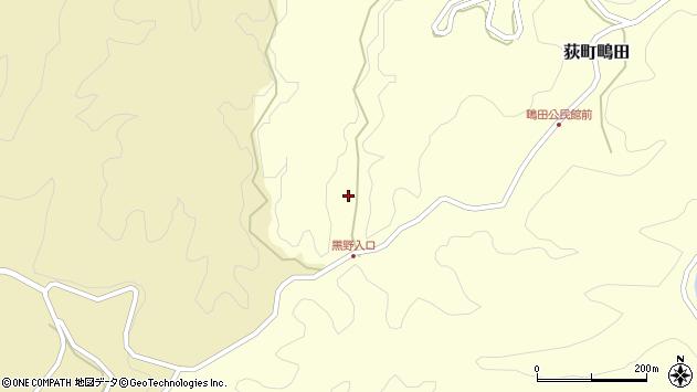 大分県竹田市荻町鴫田6743周辺の地図