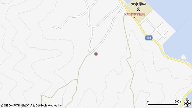 大分県佐伯市米水津大字浦代浦1672周辺の地図