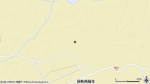 大分県竹田市荻町西福寺5354周辺の地図
