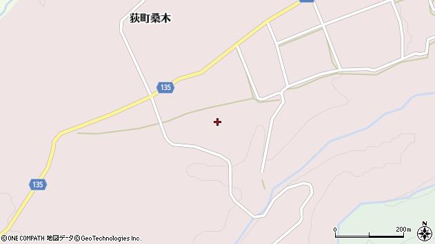 大分県竹田市荻町桑木矢所周辺の地図