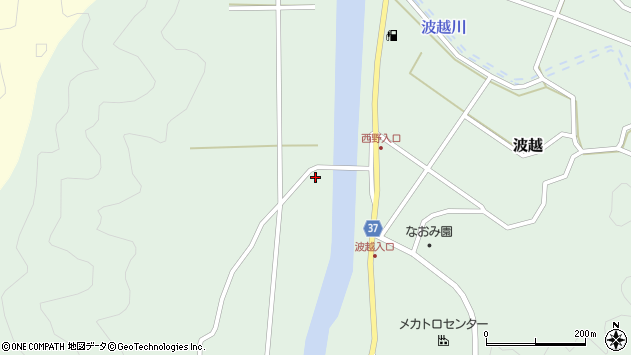 大分県佐伯市堅田2710周辺の地図