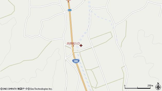 大分県佐伯市木立3273周辺の地図