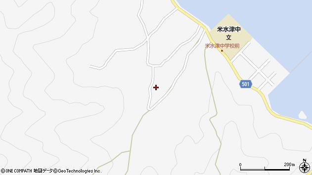 大分県佐伯市米水津大字浦代浦1534周辺の地図