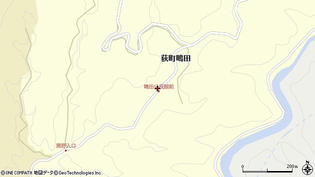大分県竹田市荻町鴫田6501周辺の地図
