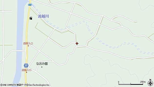 大分県佐伯市堅田4136周辺の地図