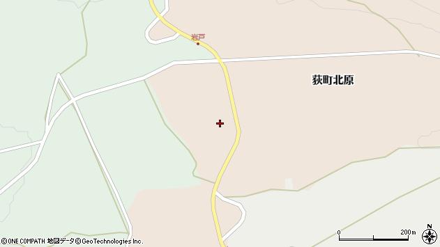 大分県竹田市荻町北原5004周辺の地図