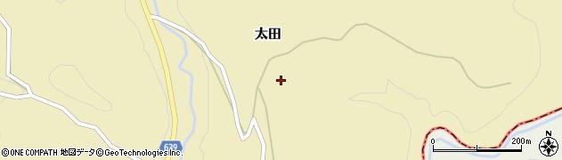 大分県竹田市太田2630周辺の地図