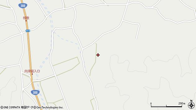大分県佐伯市木立3390周辺の地図
