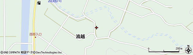 大分県佐伯市堅田4134周辺の地図