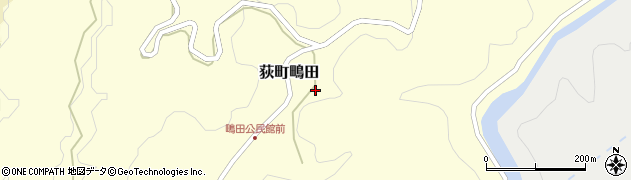 大分県竹田市荻町鴫田6762周辺の地図