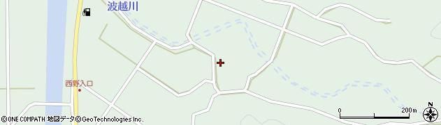 大分県佐伯市堅田4122周辺の地図