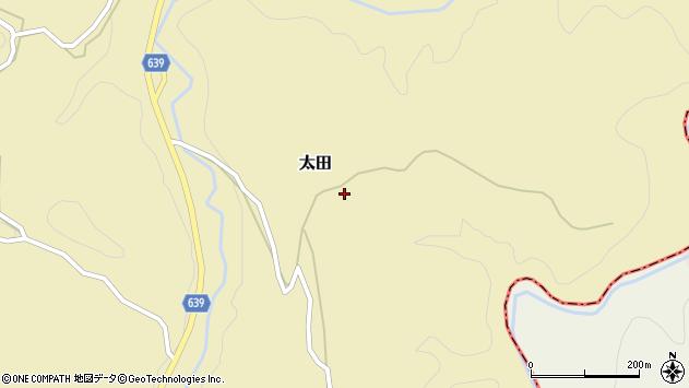 大分県竹田市太田2634周辺の地図