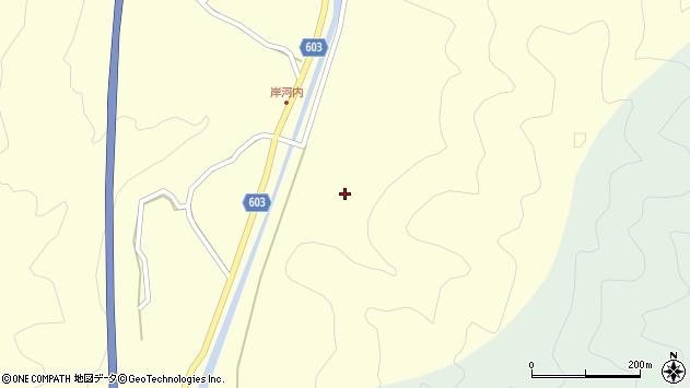 大分県佐伯市長谷2283周辺の地図