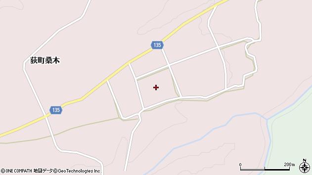 大分県竹田市荻町桑木875周辺の地図