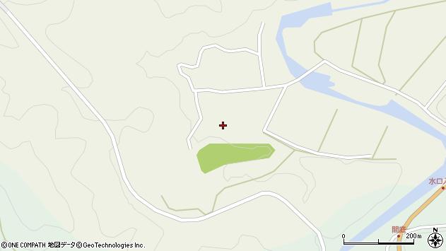 大分県佐伯市直川大字下直見380周辺の地図