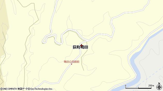 大分県竹田市荻町鴫田6756周辺の地図