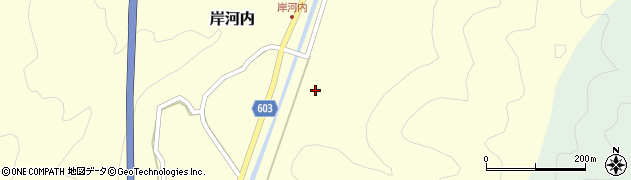 大分県佐伯市長谷2312周辺の地図