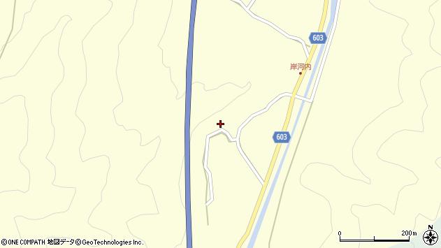 大分県佐伯市長谷4163周辺の地図