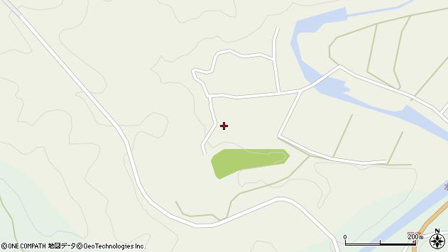 大分県佐伯市直川大字下直見375周辺の地図