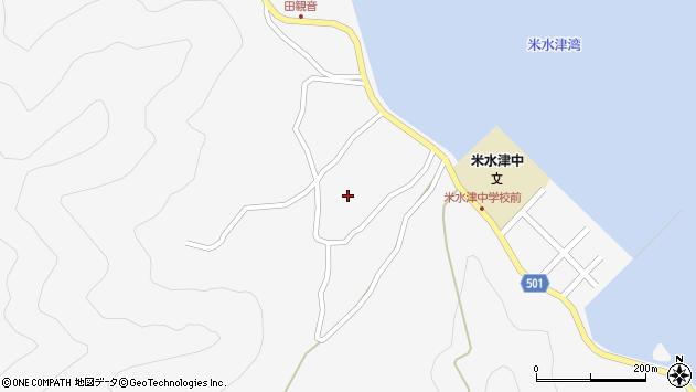 大分県佐伯市米水津大字浦代浦1440周辺の地図