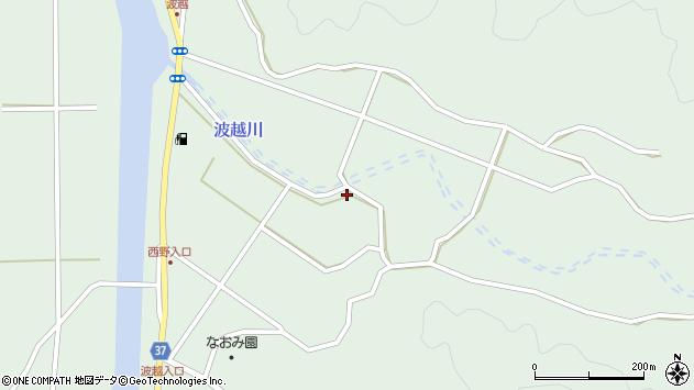 大分県佐伯市堅田4080周辺の地図