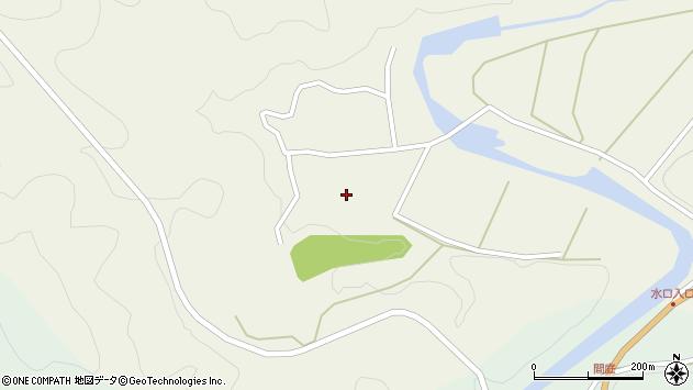 大分県佐伯市直川大字下直見383周辺の地図