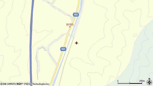 大分県佐伯市長谷2315周辺の地図