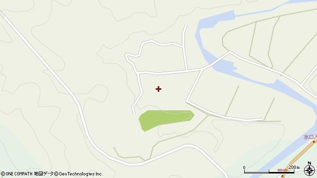 大分県佐伯市直川大字下直見382周辺の地図