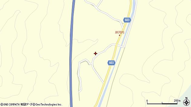 大分県佐伯市長谷4133周辺の地図
