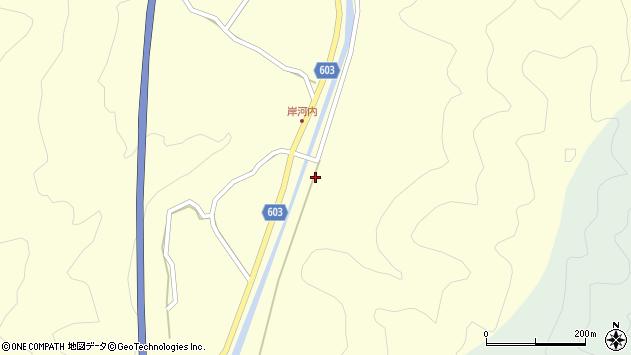 大分県佐伯市長谷2321周辺の地図