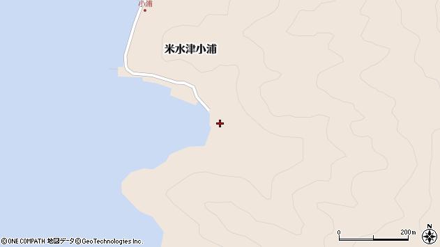 大分県佐伯市米水津大字小浦639周辺の地図