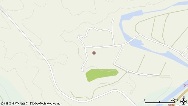 大分県佐伯市直川大字下直見373周辺の地図