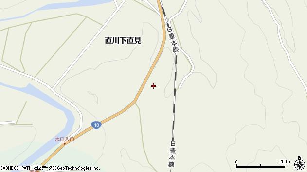 大分県佐伯市直川大字下直見4260周辺の地図