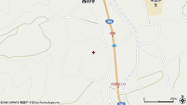 大分県佐伯市木立1550周辺の地図