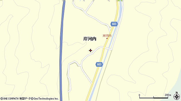 大分県佐伯市長谷4136周辺の地図